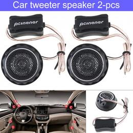 $enCountryForm.capitalKeyWord Australia - 2pcs 150W Universal Durable High Efficiency Mini Dome Car Tweeter Speakers for Car Audio System