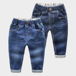 Toddler Boy Jeans Australia - 2018 Spring Kids Jeans Boys Girls Fashion Holes Jeans Children Jeans For Boys Casual Denim Pants 2-6y Toddler High Quality Y19051504