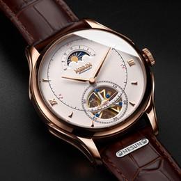 $enCountryForm.capitalKeyWord Australia - Automatic Mechanical Watch Men Switzerland Nesun Tourbillion Men's Watches Luxury Brand Skeleton Watch Sapphire Montre Homme Y19052103