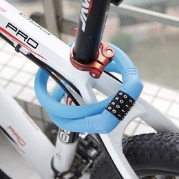 $enCountryForm.capitalKeyWord Australia - Anti-saw Bicycle Lock Password Steel Bike Motorcycle Strong Security MTB Road 4 Color Cycling Accessories Bicycle Cable Locks #158689