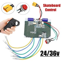 Discount electric controller 24v - 24V 36V Electric Skateboard Controller Longboard Remote Dual Motors ESC Substitute Parts Scooters Skate Board Accessorie
