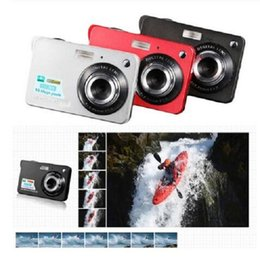 full frame camera UK - 2020 New 2.7 Inch TFT LCD Display 18MP 720P 8x Zoom HD Digital Camera Anti-Shake Camcorder Video CMOS Micro Camera Children Gift
