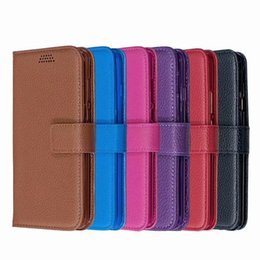 Inch phone wallet case online shopping - For Iphone inch PU Leather Wallet Case Litchi Leechee Flip Photo Card Magnetic Holder Kickstand Flip Phone Cover Pouch