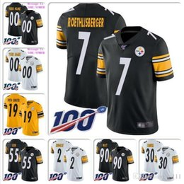 Custom sports jerseys online shopping - Cheap Mens Devin Bush Jersey T J Watt JuJu Smith Schuster James Conner Mason Rudolph Joe Greene custom football jerseys College sports