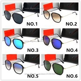 $enCountryForm.capitalKeyWord Australia - Summer Hot Sale Round Frame Brand Design Sunglasses Women Men Dazzle Colour Glasses UV Protection Sun Glasses