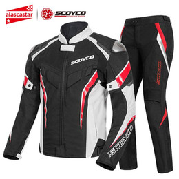 $enCountryForm.capitalKeyWord NZ - SCOYCO Summer Motorcycle Jacket+Moto Pants Reflective Motocross Chaqueta Moto Jacket Riding Protective Gear Jacket Motorcycle
