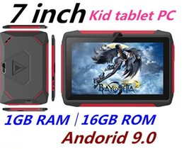 kids android tablets wholesale UK - Newest kid Tablet PC Q98 Quad Core 7 Inch 1024*600 HD screen Android 9.0 AllWinner A50 real 1GB RAM 16GB Q8 with Bluetooth wifi free dhl