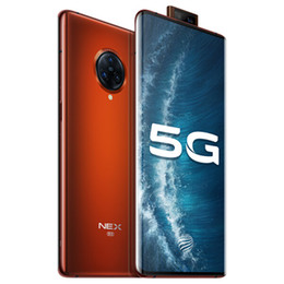 "vivo mobile phones android UK - Original VIVO Nex 3S 5G Mobile Phone 12GB RAM 256GB ROM Snapdragon 865 Octa Core 64.0MP Android 6.89"" Full Screen Fingerprint ID Cell Phone"