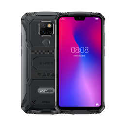 "rugged phone android indonesia UK - Doogee S68 Pro Rugged Phone Waterproof Helio P70 Octa-core 6GB 128GB Wireless Charge 5.84"" IPS Display 6300mAh 12V 2A Smartphone"
