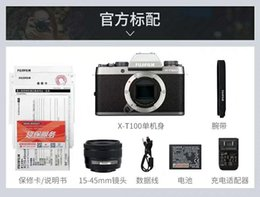 $enCountryForm.capitalKeyWord Australia - Fujifilm   Fuji X-T100 set(15-45mm) Fuji micro-single 4K digital camera xt1Start-up SLR camera anti-shake digital HD travel00