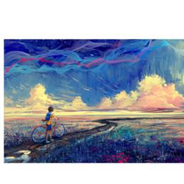 $enCountryForm.capitalKeyWord NZ - Hot NPsychedelic Trippy Colorful wall decor Art Silk Print Poster 95848