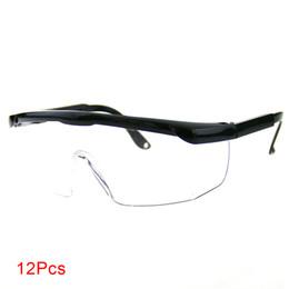667d072343 Ajustable al aire libre Durable Médico A prueba de viento Lente blanca  Protección del trabajo Policarbonato Gafas de seguridad para interiores a  prueba de ...