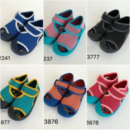 $enCountryForm.capitalKeyWord Australia - New 6 model colors kids Sandals Fashion children Summer Slippers Beach Outdoor Shoes for boy and gril Trendy Sports Beach Shoes sizes 22-35