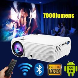 $enCountryForm.capitalKeyWord Australia - HOT X5 LCD Projector Cinema Theater Movie wifi Bluetooth LED Proyector HD Projectors AV Support 1080P 7000 Lumens
