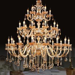 $enCountryForm.capitalKeyWord Australia - Luxury Crystal Chandelier Decoration Tiffany Pendants and Chandeliers Lighting Indoor Lamp for Foyer Stair Staircase Bedroom