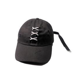 203e44119e6 Fashion Autumn Hip Hop Snapback Hats Fashion Shoelace Cross Bandage  Baseball Cap Harajuku Hat Men Women Outdoor Caps