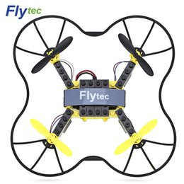 Building Block Rc NZ - Flytec T11 DIY Building Blocks RC Quadcopter 2.4G 4CH 6-axis Gyro Headless Mode 3D Unlimited Flip Aircraft