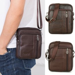 best sale handbags Australia - Mens Leather Small Satchel Crossbody Messenger Shoulder Bags Small Handbag Best Sale-WT