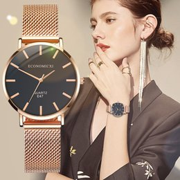 $enCountryForm.capitalKeyWord Australia - women watches 2019 High Quality Ladies Watch Rose Gold Stainless Wrist Watch Women Bracelet Watches Wristwatch Clock Gift#8