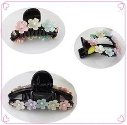 $enCountryForm.capitalKeyWord Australia - Fine Cute Flower Rhinestones Hairpins Hair Accessories Ornaments Hair Clips Hair Claw Big Small For Women Girls Kids