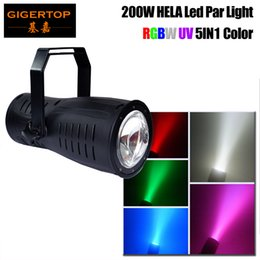 $enCountryForm.capitalKeyWord Australia - Gigertop High Power Stage 200W Led Spot Par Light Good Wall Washer Effect Stage Background Lighting RGBW UV Purple Color Mixing