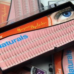 False Eyelashes 12mm Australia - 102 Strips 3d Individual False Eyelash Fake Eyelashes Extension Strips 8mm 10mm 12mm Non D-lash 0.12mm W Lash
