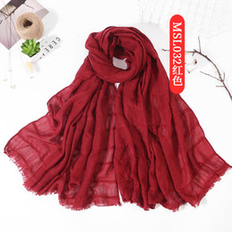 Scarfs Cotton Australia - New Design High quality hot sale ladies scarf in good price YIWU factory wholesale summer hijab
