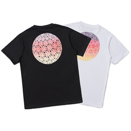 Trend Tshirt UK - 19SS Fashion tshirt mens luxury PALACES brand tshirts men women Couple t-shirt UK trend juvenile t-shirts Triangular sphere print t shirt