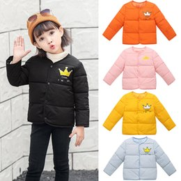 $enCountryForm.capitalKeyWord Australia - FASHION Kids Baby Girl Boy Winter Cartoon Coat Cloak Jacket Thick Warm Outerwear Clothes