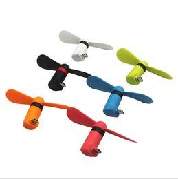 Mobiles Gadgets Australia - Mini Cool Micro USB Fan Mobile Phone USB Gadget Fan Tester Cell phone