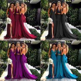 $enCountryForm.capitalKeyWord NZ - New Bridesmaid Dresses Elegant Wedding Guest Drsess High Qulity Skirts Evening Gowns Occasional Clothing party wear new arrival