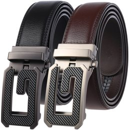 $enCountryForm.capitalKeyWord NZ - 2019 Men's Belt Designer Genuine Leather Black Fashion Belts Automatic Buckle Male Jeans Belt Apparel Accessories for Men Quality Strap