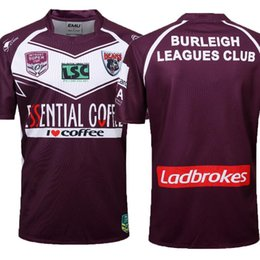 Chinese  Top quality 2019 Burleigh Bears Rugby INTRUST SUPER CUP 18 19 Redcliffe Dolphins Rugby Jerseys League jersey Redcliffe Dolphins size S-3X manufacturers