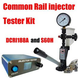 Tool Checker Australia - Portable DCRI188A Common Rail Injector Tester+S60H diesel Injector checker Drive Electromagnetic and piezo common rail injector