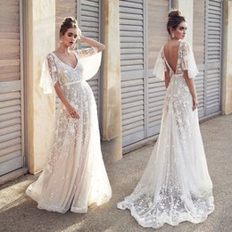 $enCountryForm.capitalKeyWord Australia - Brand women dress 2019 summer ladies sexy backless V neck party Long dress White Lace Formal Evening Gowns Prom Dresses