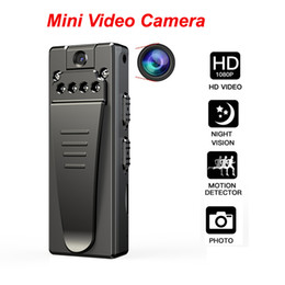 mini camera monitor video recorder UK - Mini Camera Body video Recorder HD 1080P Digital Camcorders DVR Night Vision Loop Recording Dash cam Baby Monitor car dvr