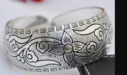 $enCountryForm.capitalKeyWord Australia - bracelet 1010+++New style Tibetan Tibet Silver Totem Bangle Cuff Bracelet
