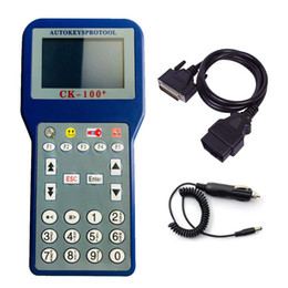 bmw key programmer obd2 Canada - 2019 New Released CK100 Auto Key Programmer V48.88 CK-100 OBD2 Car Key Programming Tool Updated Version Ck 100 No Tokens Limitation