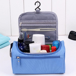 Cosmetic Bags Locks Australia - Organizer storage bags for luggage Cosmetic Bag Wash Toiletry Case zip lock Home Storage Waterproof Makeup Bags