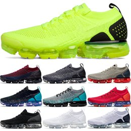 Cheap work shoes online shopping - 2019 xmaropav Men Women Running Shoes Triple Black White Dark Stucco Red Orbit Oreo Olympic Work Blue Grey Cheap Sport Sneaker