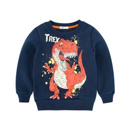 $enCountryForm.capitalKeyWord UK - 2018 New Dinosaur Hoodie Kids for Boys Long Sleeve Children Baby Toddler Sweatshirt 2 3 4 5 7 8 Years Autumn Winter Kids Clothes