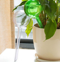 $enCountryForm.capitalKeyWord Australia - Practical PVC Travel House Plant Self Watering Bulb Shape Waterer Globes Automatic Irrigation Patio Lawn Garden Pot Planter Cans