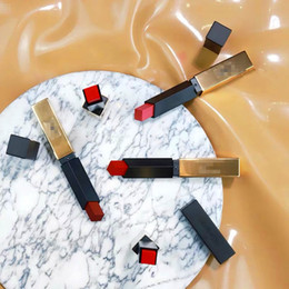 $enCountryForm.capitalKeyWord Australia - Hot Selling Charm Red Lip Mist Matt Sexy Lip Makeup Velvet Waterproof Makeup Lipstick Pigment High-end Gold Bar 21 Colors