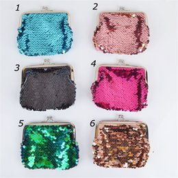 $enCountryForm.capitalKeyWord Australia - Mermaid Sequins Coin Purse Magic Sequin Glitter Clutch Bag Mini Wallets Handbag Fashion Girls Coin Pocket Little Makeup Bags Christmas 2019