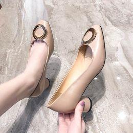 $enCountryForm.capitalKeyWord Australia - YY Dress Shoes Autumn Women Office Ladies Low Heel Pumps Bow Black Wedges Comfortable Heels Formal Work Ladies Pumps