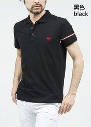 $enCountryForm.capitalKeyWord Australia - New fashion Casual high quality Summer Hot Sale Stripe T-shirt lapel Polo Cotton Shirt Men Short Sleeve Sport Polo T-Shirt size