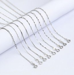 $enCountryForm.capitalKeyWord NZ - 8 Kinds Fashion 925 Sterling Silver Necklace Clavicular Chain Temperament Girl Necklace Chunky Cross Chain For Women Birthday Jewelry Gifts