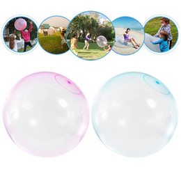 $enCountryForm.capitalKeyWord Australia - 30CM Bubble Balloon Inflatable Funny Toy Ball Amazing Tear-Resistant Super Gift Inflatable Balls For Outdoor Play Water-filled TPR Ballons