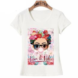 Wholesale new ladies shirt short design online – design Charismatic Cute Cartoon Art T Shirt Summer Cute Women T Shirt New Design Tops Girl T Shirt Ladies Casual Tees Fashion Short tee top
