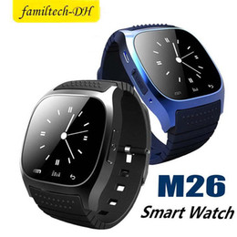 $enCountryForm.capitalKeyWord NZ - Bluetooth Smart Watch M26 With Camera support Facebook Whatsapp Twitter Sync SMS Smartwatch Support SIM TF Card For IOS Android